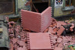 1-35-Wall-sections-bricks-RF-brick-red-6-psc-Zed-cervena