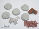 28mm-1x5-Bases-bricksn-plates-diameter-32mm