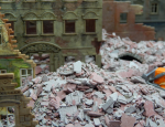 1-87-Debris-grey-brick-red-25gr-ceramic