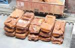 1-87-Scrap-cars-GDR-rusty-6psc-Autovraky-rezave-2