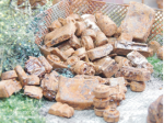 1-87-Vehicle-scrap-rusty-25gr-Srot-z-vozidel-rezavy