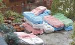 1-87-Scrap-cars-GDR-different-colors-6psc-Autovraky-ruzne-barvy