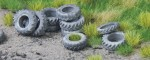 1-87-Old-tractor-tyres-10g-CCA14-pcs-stare-pneumatiky