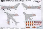 RARE-1-72-MiG-17PF-Fresco-D-Vietnam-P-A-F-