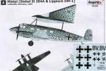 RARE-1-72-Mistel-Si-204A-and-Lippisch-DM-1
