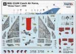 RARE-1-72-MiG-21UM-Czech-Stress-Team
