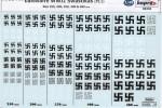 RARE-1-48-Luftwaffe-Swastikas-Pt-1