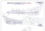 RARE-1-72-MiG-21F-13-Fishbed-C-stencil