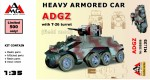 1-35-Heavy-Armored-Car-ADGZ-with-T-26-turret-field-mod