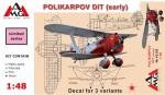1-48-Polikarpov-DIT-early