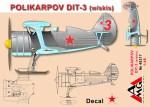 1-48-Polikarpov-DIT-3-w-skis