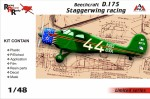 1-48-Beechcraft-D-17S-Staggerwing-racing