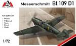 1-72-Messerschmitt-Bf-109D-1