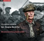 1-10-60th-anniversary-of-the-Korean-War-armistice-U-N-supreme-commander-Gen-Douglas-MacArthur