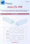1-72-Canopy-mask-Avia-CS-199-KP