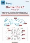 1-72-Canopy-mask-Dornier-Do-27-C-127-SP-HOBBY
