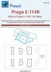 1-72-Canopy-mask-Praga-E-114B-Air-Baby-AZ-MODEL
