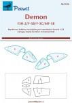 1-72-Canopy-mask-Demon-F3H-2-F-3B3C-MF-3B-SWORD