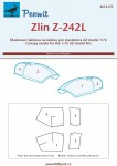 1-72-Canopy-mask-Zlin-Z-242L-AZ-MODEL