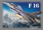 RARE-T-Shirt-Tricko-F-16-Velikost-L-SALE