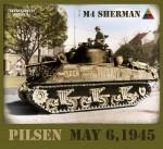 RARE-T-Shirt-Tricko-M4-Sherman-Plzen-May-1945-Velikost-L-SALE