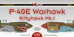 1-32-Curtiss-P-40E-Warhawk-Kittyhawk-Mk-I