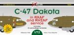1-72-Douglas-C-47-in-RAAF-and-RNZAF-Service-12-camo-schemes