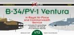 1-72-Lockheed-B-34-PV-2-Ventura-in-RAF-and-Commonwealth-Service
