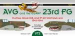 1-72-AVG-23rd-FG-Curtiss-Hawk-81A-and-P-40-Warhawk-era-1941-44