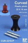 Curved-Plastic-Plinth-22x16mm