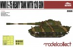 1-72-Germany-WWII-E-75-Heavy-Tank-with-128-gun