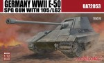 1-72-Germany-WWII-E-50-SPG-GUN-with-105-L62