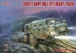 1-72-Soviet-Army-MAZ-7911-Heavy-Truck