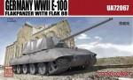 1-72-Germany-WWII-E-100-Flakpanzer-with-FLAK-88