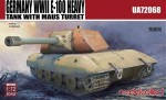 1-72-Germany-WWII-E-100-Heavy-Tank-with-Mouse-turret