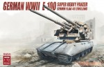1-72-German-WWII-E-100-super-heavy-panzer-with-128mm-flak-40-zwilling
