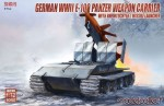1-72-German-WWII-E-100-panzer-weapon-carrier-with-Rheintochter-1-missile-launcher