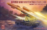 1-72-German-WWII-E-100-panzer-weapon-carrier-with-V1-Missile-launcher