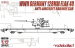 1-72-WWII-Germany-128mm-Flak-40-Anti-Aircraft-Railway-Car