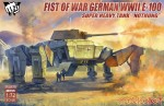 1-72-Fist-of-War-German-WWII-E-100-Supper-Heavy-Tank