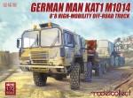 RARE-1-72-German-MAN-KAT1M1014-8*8-HIGH-Mobility-off-road-truck