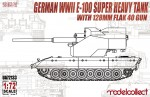 1-72-German-WWII-E-100-super-heavy-tank-with-128mm-flak-40-zwilling-gun