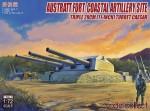 1-72-Austratt-fort-coastal-artillery-site-triple-28cm-turret-Caesar