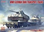 RARE-1-72-WWII-German-tank-transport-trains