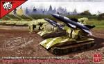 1-72-German-WWII-V4-short-range-tactical-ballistic-missile-in-Waffentrager-Auf-E100