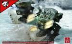 1-72-Fist-of-War-German-WWII-Blf-100A-light-fighting-Mech
