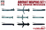 1-72-Aircraft-weapons-set1-U-S-cruise-missiles