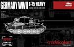 1-72-Germany-WWII-E-75-Heavy-Tank-with-88-Gun