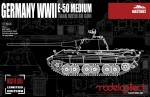 1-72-Germany-WWII-E-50-Medium-Tank-with-88-Gun