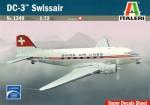 1-72-DC-3-Swissair